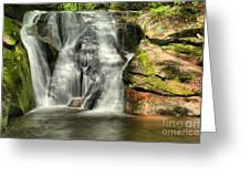 Widows Creek Falls Greeting Card