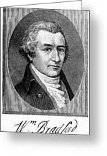 William Bradford Greeting Card