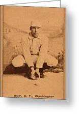 William Ellsworth Hoy Greeting Card