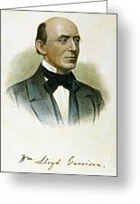William Lloyd Garrison Greeting Card