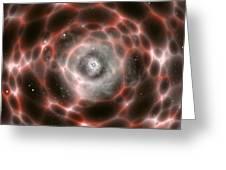 Wormhole, Artwork Greeting Card