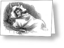 Wounded John Brown, 1859 Greeting Card