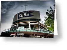 Wrigley Field Bleachers Greeting Card