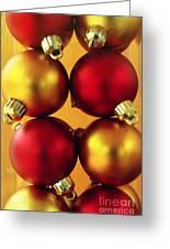 Xmas Balls Greeting Card