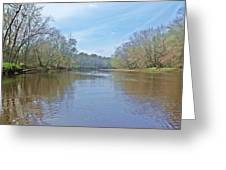 Yellow River  10 Greeting Card