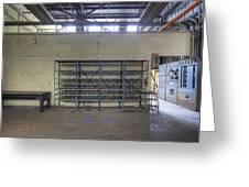 An Empty Industrial Building In Los Greeting Card by Dan Kaufman