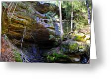 Ash Cave Greeting Card