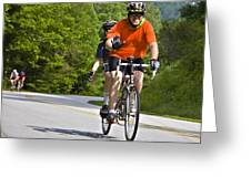 Bicycle Ride Across Georgia Greeting Card