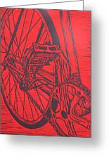 Bike 3 Greeting Card