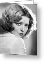 Clara Bow (1905-1965) Greeting Card