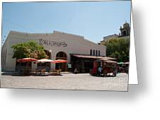 El Pueblo De Los Angeles Greeting Card