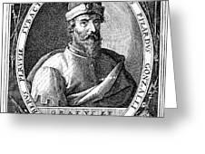 Francisco Pizarro Greeting Card