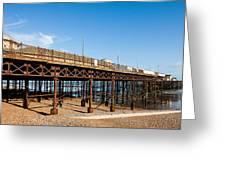 Hastings Pier Greeting Card