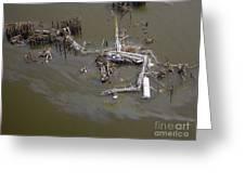 Hurricane Katrina Damage Greeting Card