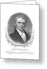 John Marshall (1755-1835) Greeting Card