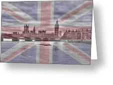 London  Skyline Big Ben Greeting Card