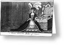 Marie Antoinette (1755-1793) Greeting Card