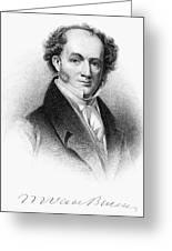 Martin Van Buren (1782-1862) Greeting Card