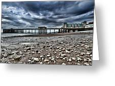 Penarth Pier Greeting Card