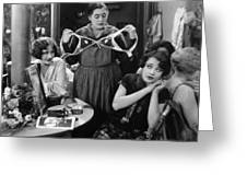 Silent Still: Showgirls Greeting Card by Granger