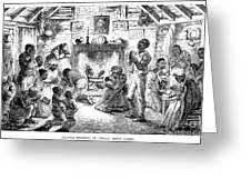 Uncle Toms Cabin Greeting Card