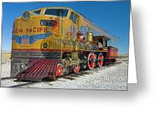 100 Years Of Union Pacific Railroading Greeting Card