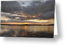 10000 Islands Sunset Greeting Card