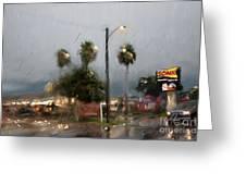 10th Street Mcallen Texas Greeting Card