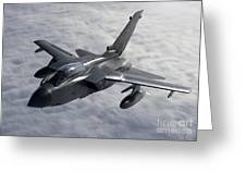 A Luftwaffe Tornado Ids Over Northern Greeting Card