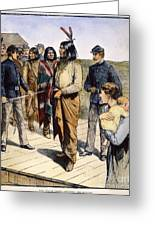 Geronimo (1829-1909) Greeting Card