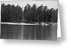Haukkajarvi First Snow Greeting Card