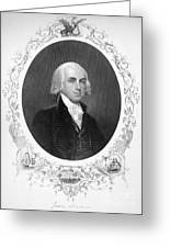 James Madison (1751-1836) Greeting Card