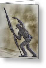 11th Mississippi Infantry Regiment At Gettysburg Greeting Card