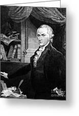 Alexander Hamilton Greeting Card