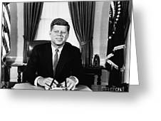 John F. Kennedy (1917-1963) Greeting Card