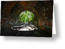 Moonville Tunnel  Greeting Card