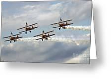Wingwalkers Greeting Card by Angel  Tarantella