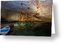 120 Feet Below The Surface Greeting Card