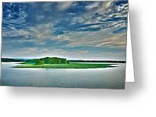 1206-9119 Arkansas River At Spadra Park  Greeting Card