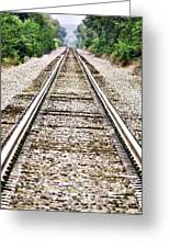 1207-9507 Train Tracks At Knoxville Greeting Card by Randy Forrester