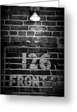 126 Front Street Greeting Card