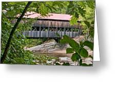 12690 Albany Covered Bridge Greeting Card