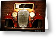 12v Collector Car Greeting Card by Susanne Van Hulst