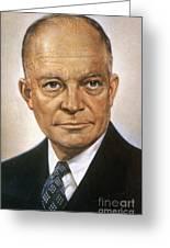 Dwight D. Eisenhower Greeting Card