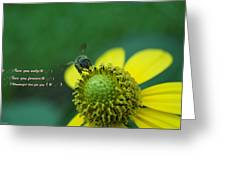 Flower For You Greeting Card