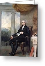 James Monroe (1758-1831) Greeting Card