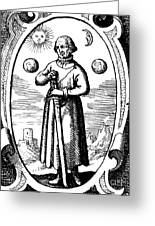 Paracelsus, Swiss Polymath Greeting Card