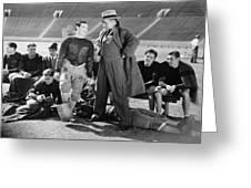 Silent Film Still: Sports Greeting Card by Granger