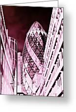 The Gherkin London Greeting Card