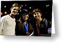 Australian Deaf Games 2012 Greeting Card
